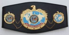 Official WKF Champion belts